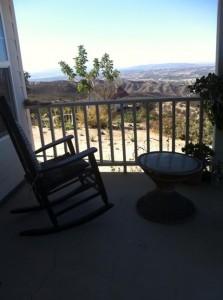 Dorland Mountain  Arts Colony Porch View